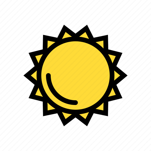 earth, space, sun, sunny, weather icon