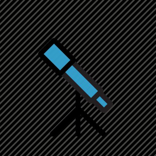 astronomy, planet, space, telescope, telescope icon icon