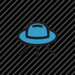 alien, alien spaceship, space, spacecraft, ufo icon