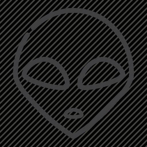 alien, head icon