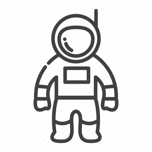 astronaut, astronomy, space icon