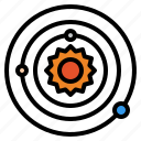 orbit, planet, space, universe, solar, system