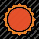 sun, universe, solar, system