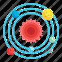 solar, system, sun, astronomy, universe