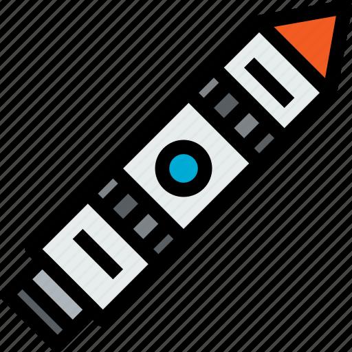 rocket, space, spaceship icon