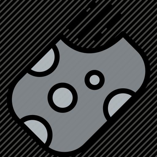 meteorite, space icon