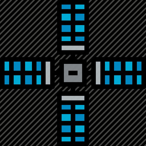 satellite, space icon