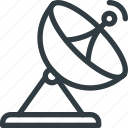 antenna, dish, parabolic, radar, satellite, signal