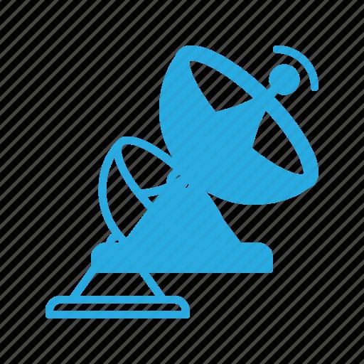 antenna, dish, parabolic, radar, satellite, signal icon