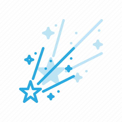 astronomy, comet, meteor, space, spacecraft icon
