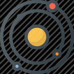 astronomy, orbit, planet, solar, space, sun, system icon