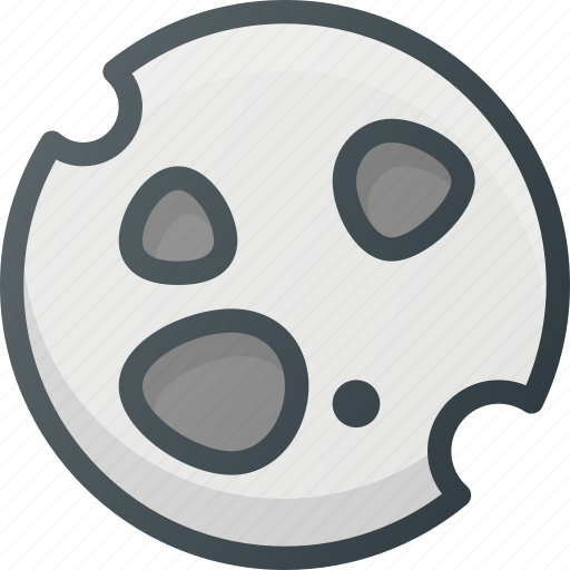 asteroid, astronomy, comet, meteor, space, spacecraft icon