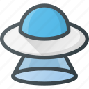 alien, cosmos, ship, space, ufo, universe icon