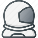 astronaut, descovery, exploration, helmet, mission, space, suit icon
