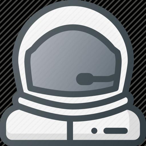 astronaut, descovery, exploration, helmet, mission, space, suit icon