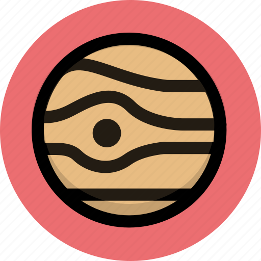 astronomy, jupiter, planet, science, space, universe icon