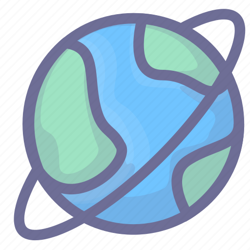 earth, global, planet, satellite, space, universe icon