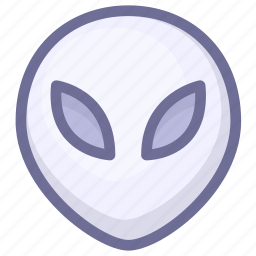 alien, monster, spaceship, ufo icon