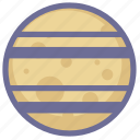 astronomy, galaxy, planet, saturn, space, universe icon