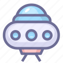 alien, spacecraft, ufo icon