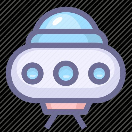 alien, spacecraft, ufo icon