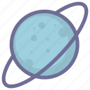 astronomy, planet, satellite, space, universe icon