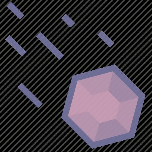 crashed, gravel, space icon