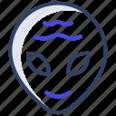 alien, space avatar, extraterrestrial, space alien, alien face