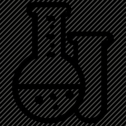 experiment, laboratory icon