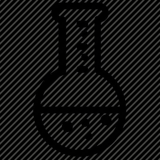 laboratory, liquid, test, tube icon