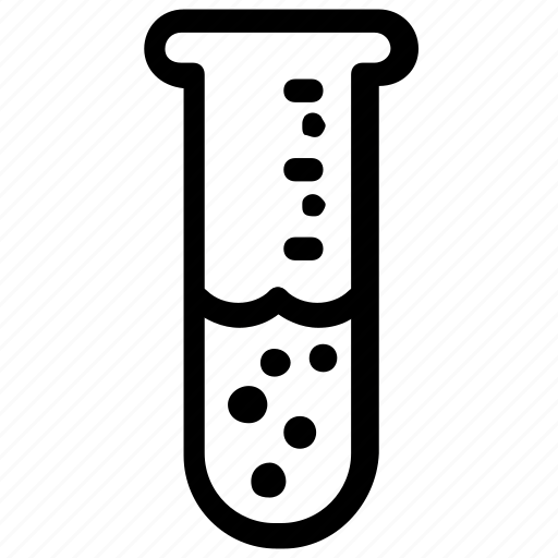 laboratory, test, tube icon