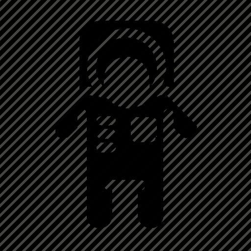 astronaut, space, suit icon