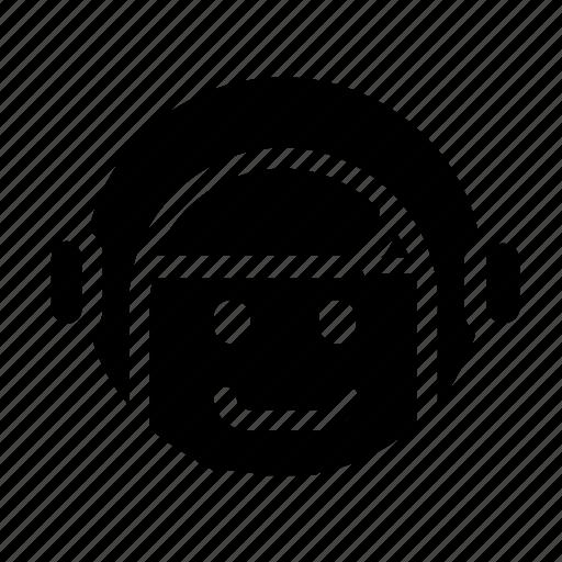 astronaut, helmet, suit icon