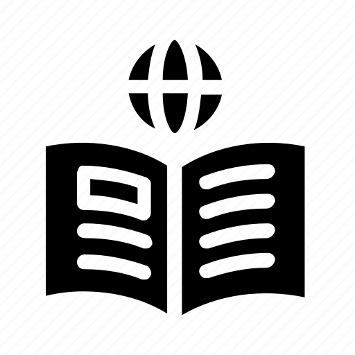 book, international, notebook icon