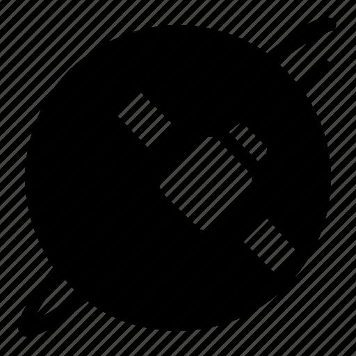 communication, planet, satellite icon
