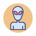 alien, et, monster, species, ufo icon