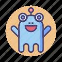 alien, monster, species, ufo icon