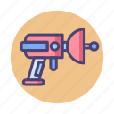 alien, alien weapon, gun, weapon, weaponry icon