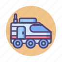 colony, colony transport, suv, swat, transport, transport colony, van icon