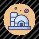 habitat, life dome, martian, martian habitat icon