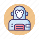 monkey suit, space ape, space monkey icon