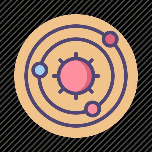 planet, planetary system, solar, solar system, system icon