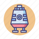 module, space, space module icon