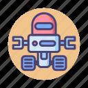 bot, robot, robotics, space, space robot icon