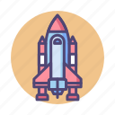 launchpad, rocket launch, shuttle, space, rocket