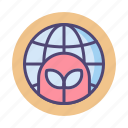 earth, ecology, ecosystem, planet, terraforming, terraforming planet icon