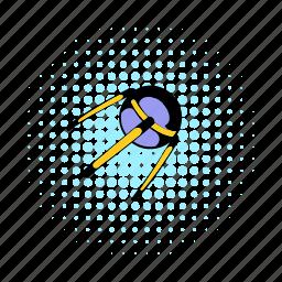 comics, communication, render, satellite, space, spacecraft, technology icon