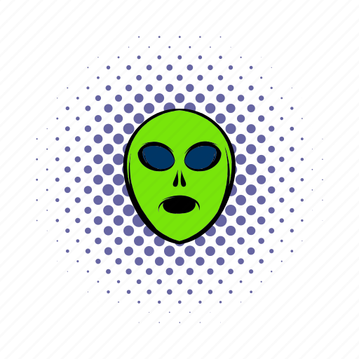 alien, character, comics, cute, extraterrestrial, monster, space icon