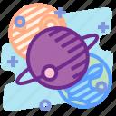 education, orbit, planet, satellite, science, space icon