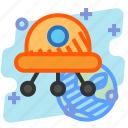 alien, education, invansion, science, space, ufo icon